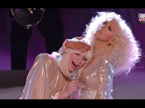 "Lady Gaga & Christina Aguilera ""Do What U Want"" & Tessanne Chin Wins Season 5! VOICE CAP"