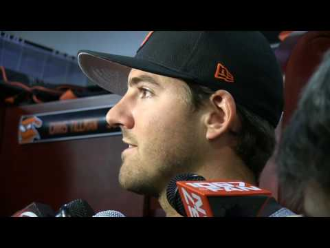 Kevin Gausman on his first opening day start