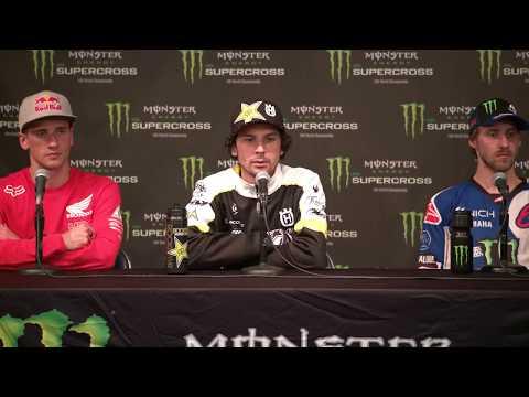 450SX Class Press Conference - Houston - Race Day LIVE 2018