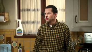 Two and a Half Men - Mustache