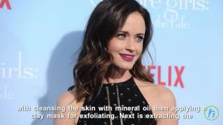 Celebrity Health: Alexis Bledel's Skin Tips