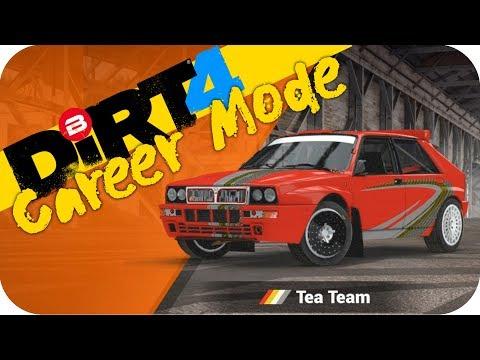 DIRT 4 Gameplay - TEAM TEA & MY NEW CAR!! w/ Ferrari F430 Wheel #4 Let's Play Dirt 4 Rally PC