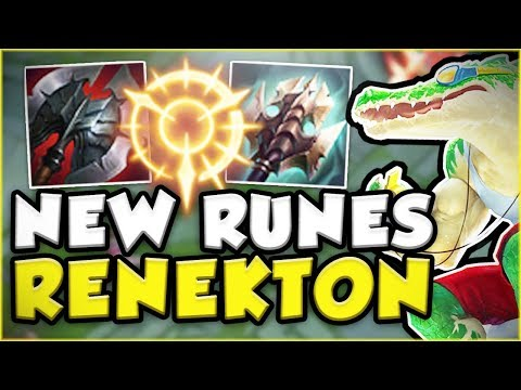 Download Youtube: CAN THESE NEW RUNES BRING RENEKTON TO THE TOP AGAIN?! NEW RENEKTON TOP GAMEPLAY! - League of Legends