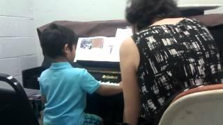 Malhar's piano lesson 2