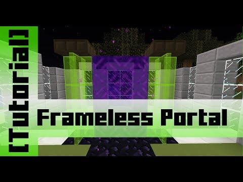 Frameless Nether Portal [Tutorial]