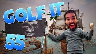 Golfing With A Severe Handicap! STILL I FIGHT THROUGH! (Golf It #55)