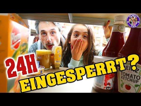 Download Youtube: 24 STUNDEN EINGESPERRT im KELLER ? - Our life Family Fun