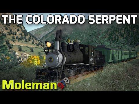The Colorado Serpent! | TS2016 | B4D 2-8-0 | Clear Creek Narrow Gauge