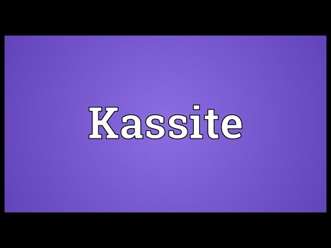 Kassite Meaning