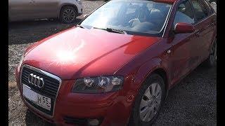 Audi A3.  без DSG и турбо, когда VAG делал автомобили.