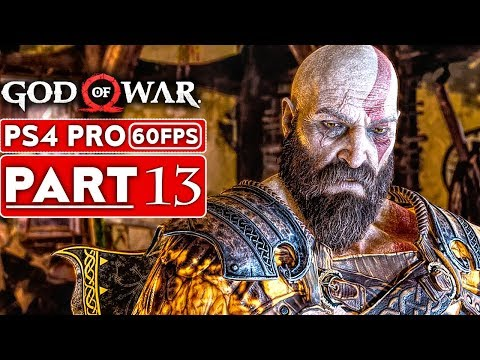 GOD OF WAR 4 Gameplay Walkthrough Part 13 [1080p HD 60FPS PS4 PRO] - No Commentary