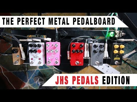The Perfect Metal Pedalboard - JHS Pedals Edition | GEAR GODS