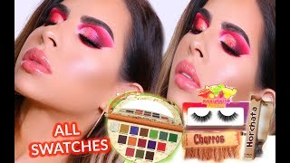 NEW GLAMLITE TACO PALETTE TUTORIAL, REVIEW, SWATCHES
