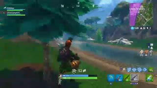 Fortnite with new st Patrick's day outfit+pick axe
