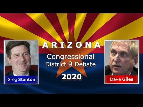 Arizona Congressional District 9 Debate 2020 Rep. Greg Stanton (D) And Dave Giles (R)