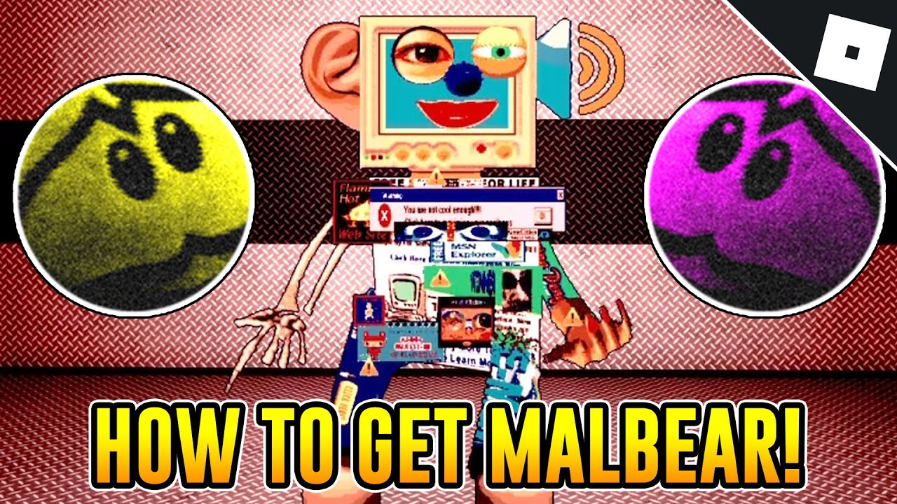 How To Get The Malbear Skin In Bear Roblox Youtube
