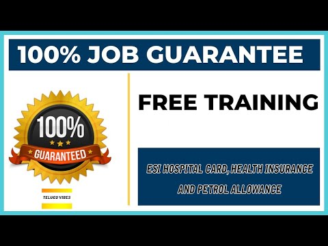 Free Training and Free Job Placement In Hyderabad || Only For Graduations..