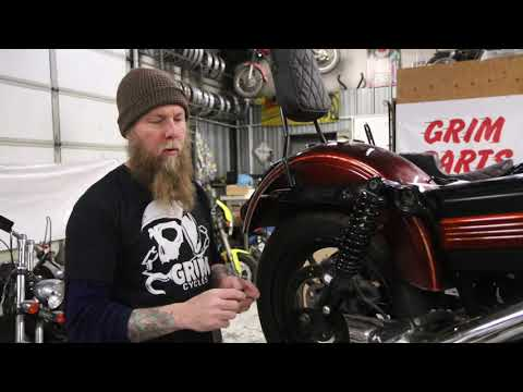 Grim Adventure and Saddlebag Brackets install instructions for all Harley  Davidson Dyna models