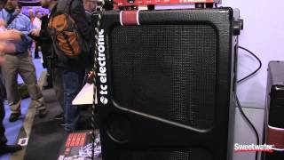 Tc Electronic K Series Bass Cabinets - Sweetwater At Winter Namm 2015