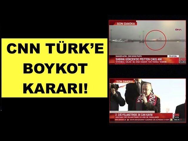 CHP'DEN CNN TÜRK'E BOYKOT KARARI!