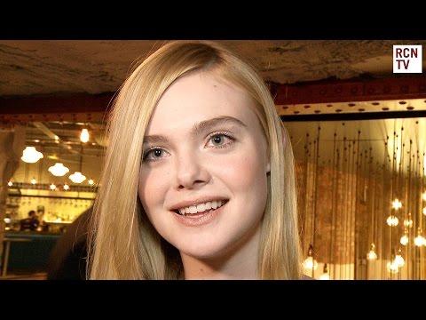 Elle Fanning Interview The Neon Demon Premiere