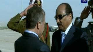 استقبال القادة ورؤساء الوفود المشاركة في قمة عمّان - (28-3-2017)