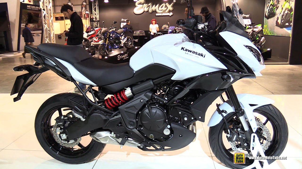 2015 kawasaki versys 650 walkaround debut at 2014 eicma milan motorcycle exhibition youtube. Black Bedroom Furniture Sets. Home Design Ideas