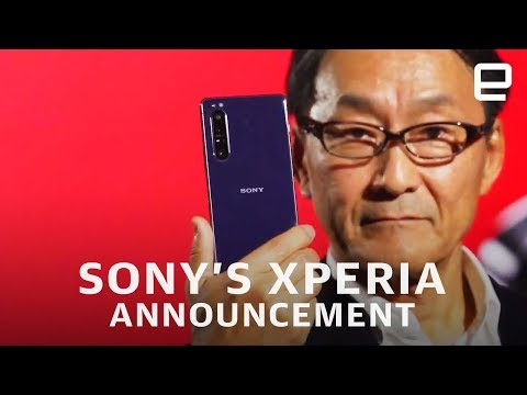 Sony's Xperia announcement