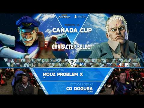 SFV: Mouz | Problem X vs CO | Dogura Canada Cup 2017 Top 8 - CPT2017