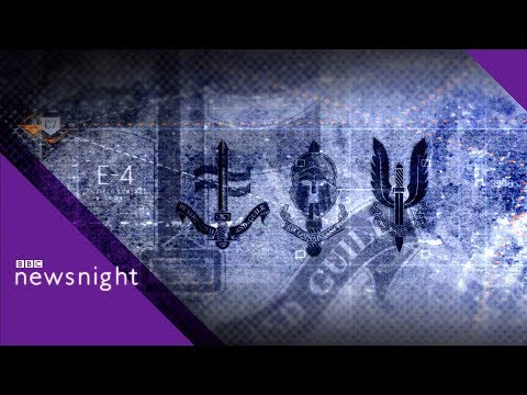 A new counter-Russia mission for the SAS? - BBC Newsnight