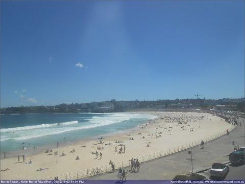 Bondi Beach Webcam Planetary Objects Seen Over Australia