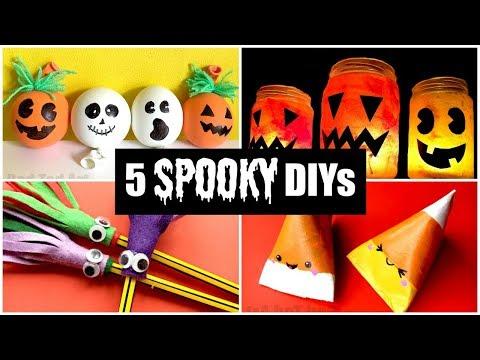 5 BEST & Spooky Halloween DIYs for Kids - Easy Halloween Crafts