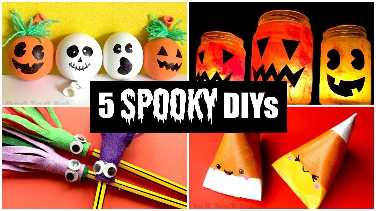 5 Best Spooky Halloween Diys For Kids Easy Halloween Crafts