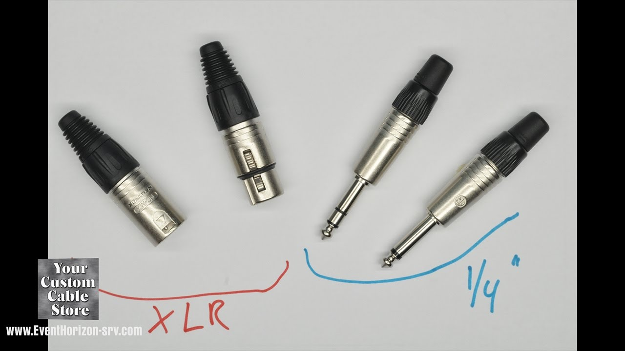Intro to XLR and 1/4