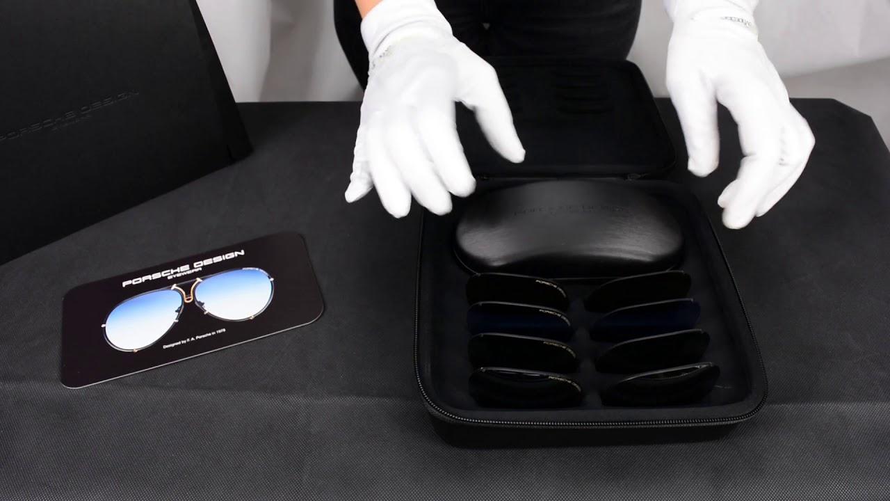 8bd8c0f8a98 Unboxing Sunglasses Porsche Design 8478 S Limited Editon 40Y - YouTube