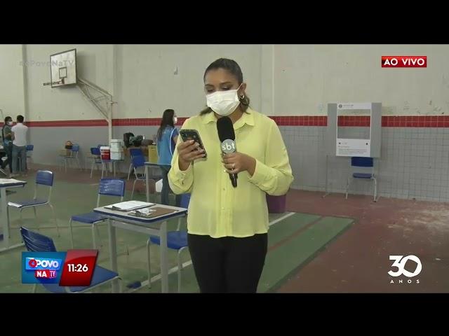 Alteração: ponto de vacinação é transferido em João Pessoa- O Povo na TV