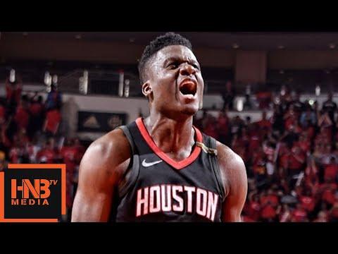 Golden State Warriors vs Houston Rockets 1st Half Highlights / Game 7 / 2018 NBA Playoffs