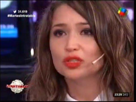 El llanto desconsolado de Julia Mengolini: No puedo trabajar así