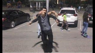 Парни Из Кавказа Танцуют Классно На Улице В Баку 2018 Лезгинка ALISHKA Чеченская Песня Королева Моя