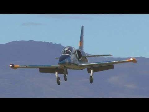L39 Albatros jet at Warbirds Over Wanaka
