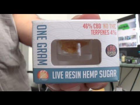 Live Resin Hemp Sugar Legal CBD Dab Review