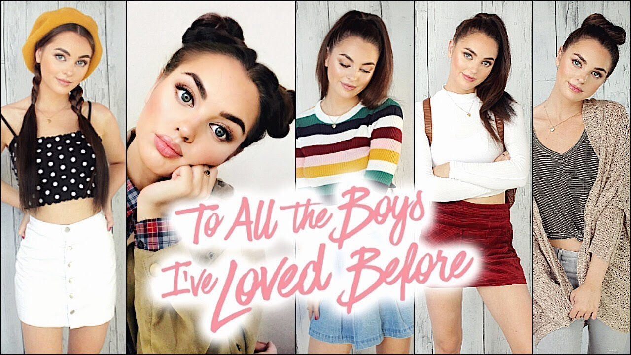 Lara Jean Outfits + Makeup & Hairstyles! To All The Boys I've Loved Before lookbook