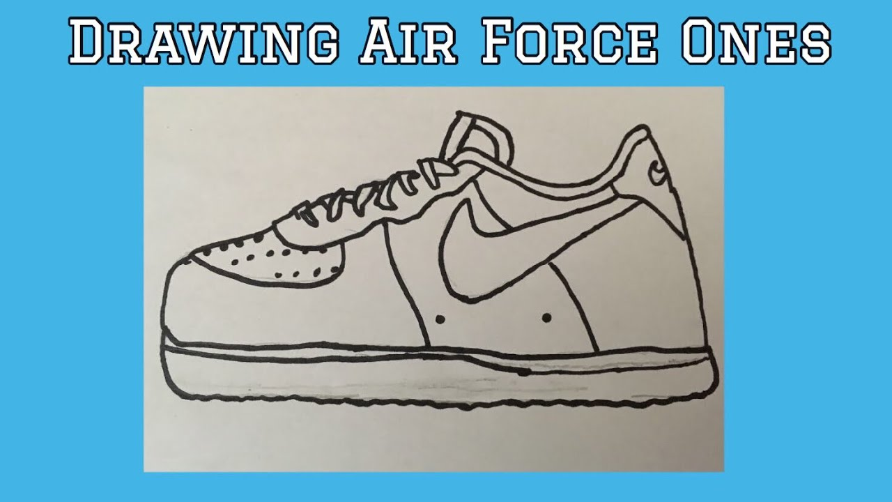 draw air force ones