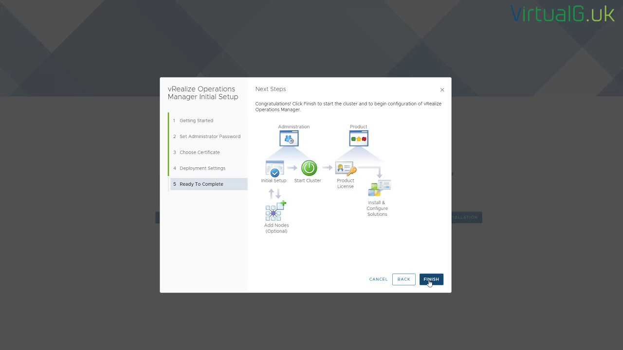 VMware vROps - 60 Second Install - vRealize Operations Manager