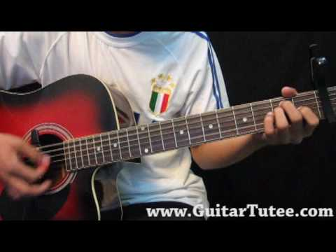 The Saturdays - Chasing Lights, by www.GuitarTutee.com