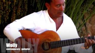 Mallorca guitarist Wolly - rock, pop, chill out - for wedding and event in the Balearic Islands