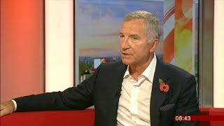 Graeme Souness  Are todays players too SOFT ????  interview