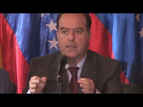 Julio Borges acusa al Gobierno de Maduro de destruir la confianza en el voto