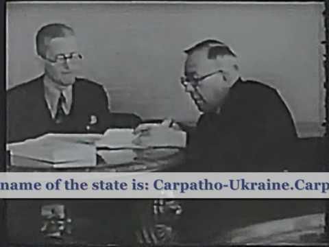 Carpath Ruthenia,Rusyn state/three days of independence.