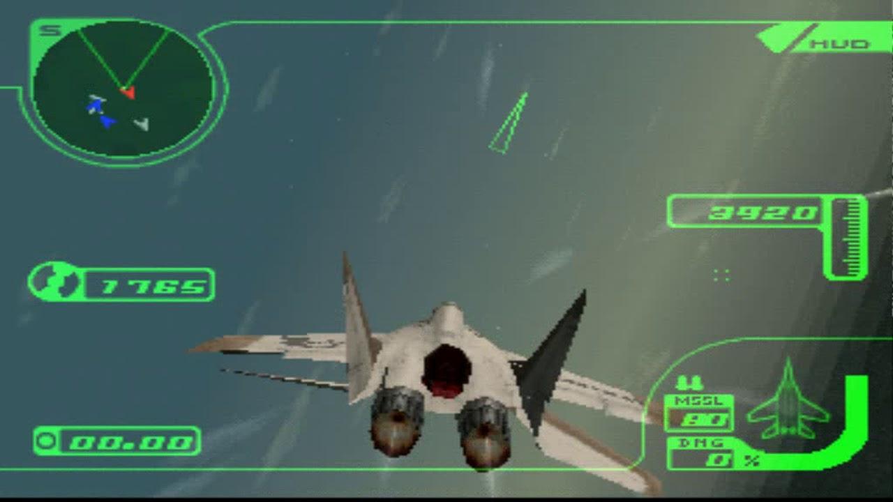 Ace Combat 3 Electrosphere analise